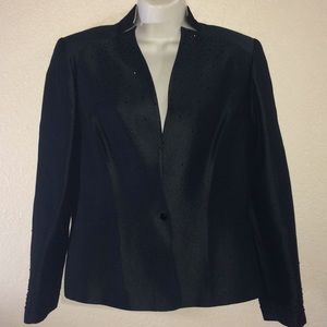 ALBERT NIPON RHINESTONE DRESS JACKET